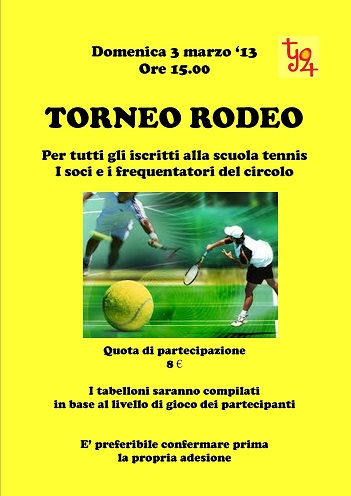 Torneo Rodeo al Tennis Junior 24
